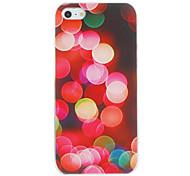 Burbujas romántica del caso del patrón de la PC dura para el iPhone 5/5S