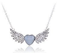Women's Alloy Necklace Birthday/Gift/Party/Daily/Outdoor Crystal
