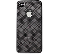 Mirror Pattern Protection PC Hard Case for iPhone4/4S