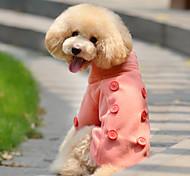 Winter Woolen Coats for Dogs Orange / Green XS / M / S / L