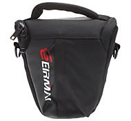 EIRMAI EMB-SS02 (S) Nylon Photography Protective Triangle Bag for Camera (Black)
