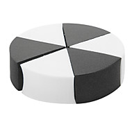 Malian P-007 Makeup Sponge(Black & White)