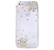 Cherry Jewelry Covered Back Case for iPhone 5/5S