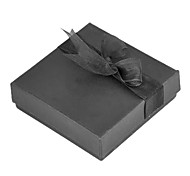 Vintage Black Paper Jewelry Box For Bangle (Black)(1 Pc)