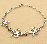 Bracelets de trèfle de style doux
