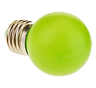 E26/E27 1 W 12 50 LM Green Globe Bulbs AC 220-240 V