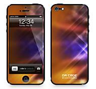 """Código Da Pele ™ para iPhone 4/4S: """"Luzes de Dança Laranja Padrão"""" (Abstract Series)"""