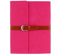 Auto Sleep Elegant Leather Belt Designed PU Full Body Case with Stand for iPad Air (Assorted Colors)