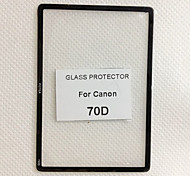 Fotga Premium LCD Screen Panel Protector Glass for Canon 70D
