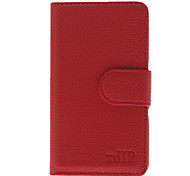 Litchi Stripe PU Leather Protective Pouches with Stand and Card Slot for Samsung Galaxy i9100