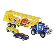 Plastique jaune voiture conteneur de transport de voitures