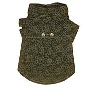 Stilvolle Muster-Hemd für Haustiere Hunde (verschiedene Größen)