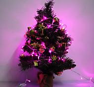 100-LED Light Purple de bande de LED 6W 10M pour Noël Halloween décoration de festival (110V)