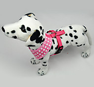 Dog Harnesses LED Lights Blue / Pink Textile