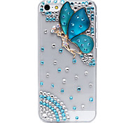 Faerie Pattern Metal Jewelry Back Case for iPhone 5C(Assorted Color)