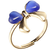 Korea Style Bowknot Adjustable Ring