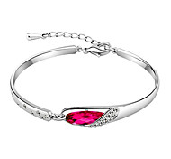 Sweet Style Glass Slipper Bracelets