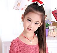 L'extension de cheveux de style droites longue queue de cheval pour l'enfance (Brown)