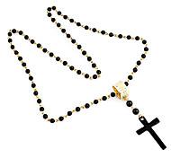 Модный бисер с Креста ожерелье формы