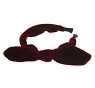 Fashion Black/Red Fabric Headbands For Women