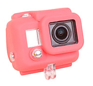 Gopro Accessories Protective Case For Gopro Hero 3 Silicone Red