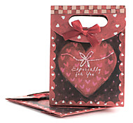 Sweet Red Paper Bag gioielli per gioielli (Red) (6 Pc)