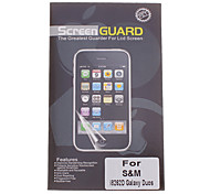 Professional Clear Anti-Glare LCD Screen Guard Protector for Samsung Galaxy Duos I8262D