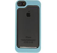 Solid Color TPU Bumper Rahmen für iPhone 5/5S (verschiedene Farben)