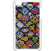Cartoon Character Pattern Epoxy Hard Case for iPod Touch 4