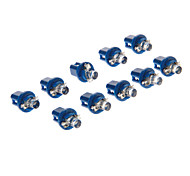 B8.5D 1-LED 10-20LM Blue Light-LED für Auto (12V, 10 Stück)