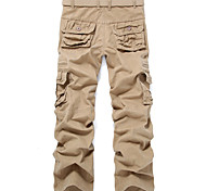 Men'S Cotton Multi Pockets Pants