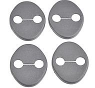 Protective ABS Car Door Lock Covers for IX35 Veloster Veracruz and More (4-Piece)