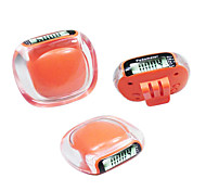 Model-598 Acrylic Mini Pedometer (Assorted Color)