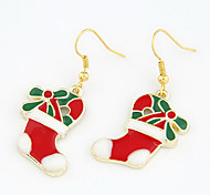 Christmas Gift Christmas Boots Drop Earrings(Assorted Color)