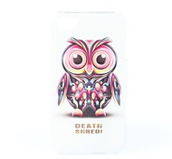 Owl Pattern Hard Case for iPhone 4 and 4S