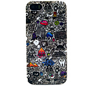 For iPhone 5 Case IMD / Pattern Case Back Cover Case Cartoon Soft TPU iPhone SE/5s/5