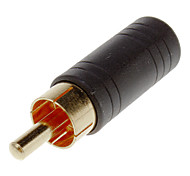 3.5mm Female to RCA Male Adapter