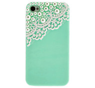 Design Color Hard Snap-On Skin Case Cover Accessory for iPhone 4/4S(Assorted Color)