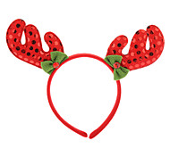 David Deer Horn Shaped Christmas Headgear (Random Color)