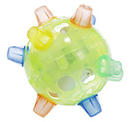 Plastic Green Dancing Flash Ball Toy