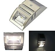 Solar Motion Sensor Super Bright LED de parede para Pathway Staircase Passo Quintal parede unidade Way