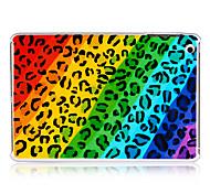 rayures diagonales léopard coloré arrière en plastique cas pour l'ipad mini-3, Mini iPad 2, ipad mini-