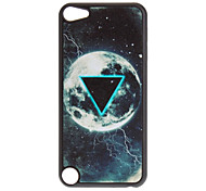 Shimmering Beautiful Earth and Triangle Pattern Hard Case for iPod touch 5
