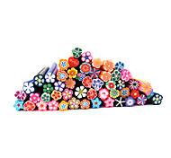 20шт Симпатичные 3D Цветы Nail Art FIMO Гончих стержни украшения