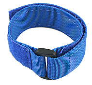 nylon nastro di fissaggio wi-fi telecomando cinghia braccialetto per GoPro Hero 3/3 +