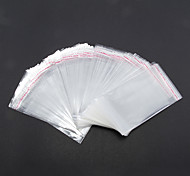 Fashion Transparent Plastic Jewelry Bags For Jewelry(200 pcs)