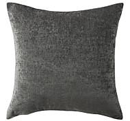 Modern Classic Solid Chenille Decorative Pillow Cover