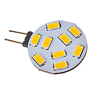 Focos LED G4 3W 9 SMD 5730 120-150 LM Blanco Cálido V