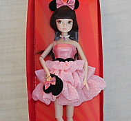 Fashion Classic Minnie Dress Kurhn Doll Chinese Girl Figure