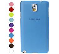 Ultra Slim Lässige Kunststoff Schutzhülle für Samsung Galaxy Note N9000 3